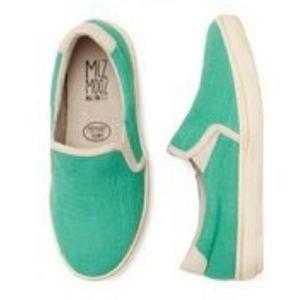 Miz Mooz Stitch Fix Serafina Slip-on Sneakers Teal
